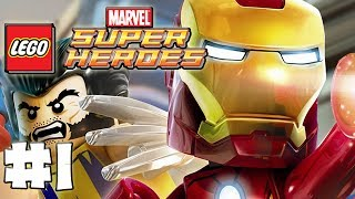 LEGO Marvel Superheroes - Part 1 - Welcome True Believers (HD Gameplay Walkthrough)