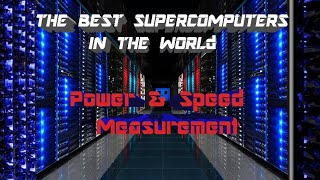 TOP 5 Supercomputers in the world | How Much faster?