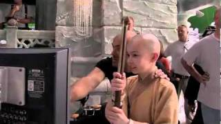Aang for a Day Behind the Scenes of  The Last Airbender ( Noah Ringer On Set )