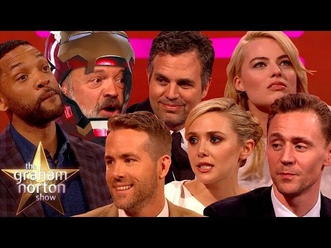 THE DARK NORTON RISES Best Superhero Moments on The Graham Norton Show
