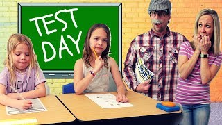 Toy School FAILS Test Day !!!