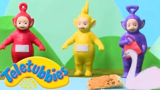 Teletubbies Park Picnic with Swans | Teletubbies Toy Play Video | Play games with Teletubbies