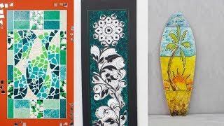 ManosalaObraTv 2018 Programa 111 - Trencadis  - Mixed Media - Pintura Decorativa