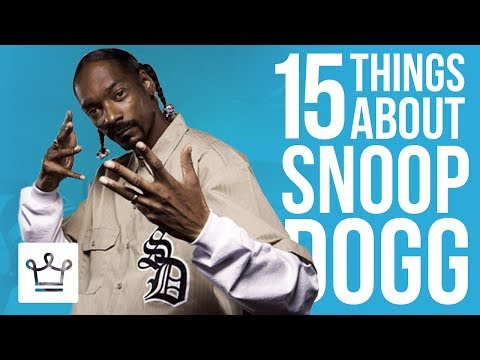 15 Things You Didn't Know About Snoop Dogg