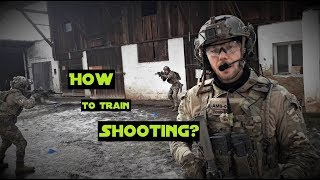 How to train shooting in Airsoft? // German Milsim Airsoft