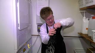 Håndvask og skånevask, TVkøkken