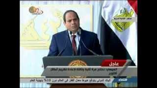 بالفيديو.. السيسي: «طنطاوى» هو صاحب فكرة تنازل ظباط الجيش عن رواتبهم 20 عاما
