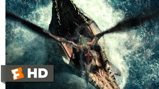 Jurassic World (4/10) Movie CLIP - Pterosaur Attack (2015) HD