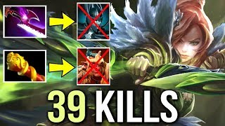 Imba Windranger Mid Counter PA Troll with Silver Edge 39 Kills Epic Gameplay by Draskyl Dota 2