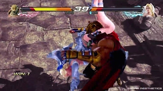 TEKKEN 7 (PS4) All Rage Arts FULL ROSTER 37 Characters (1080p 60fps)