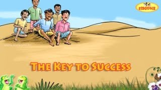The Key To Success || English Moral Story For Kids