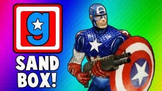 Gmod Cooking Show, Captain America Skits, Hail Hydra! (Garry's Mod Sandbox Funny Moments & Skits)