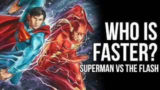 Who Is Faster? Superman Or The Flash?