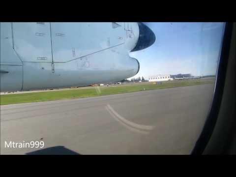 Air Canada Dash-8 take off, YQQ