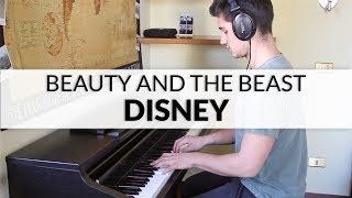Disney - Beauty And The Beast (Ariana Grande and John Legend)   Piano Cover