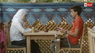 """مسلسل حق ميت - مشهد للعبرة   """" كما تدين تدان """" شوف بنت هاشم مهرب وبائع البنات للدعارة"""