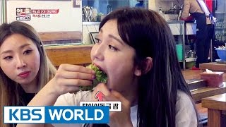 """Somi, can you eat all that?""…They are crazy for food! [Sister"