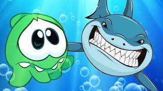 Om Nom Stories   SHARK V/S Om Nom   Cartoon for Kids   Om Nom Hindi