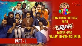 Fun Bucket Team Funny Skit with Dwaraka Movie Hero Vijay Devarakonda || Valentine's Day Special - 01