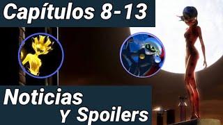 Miraculous Ladybug Temporada 2 | Capítulos 8 al 13 | Especial de Navidad | Noticias
