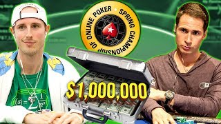 $1050 Into $1,000,000! SCOOP Phase FINAL TABLE Review!