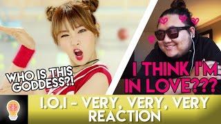 I.O.I - VERY VERY VERY MV   Jeonghan Trash Producer Reacts