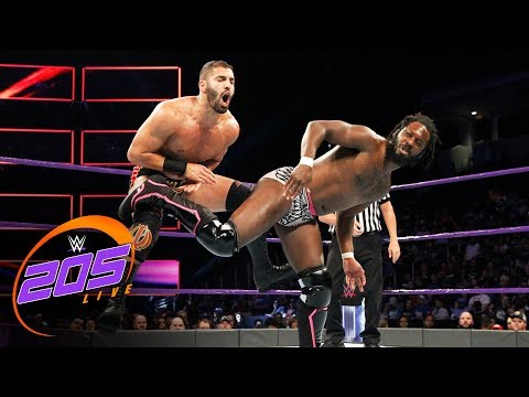 Rich Swann vs. Ariya Daivari: WWE 205 Live, Aug. 29. 2017