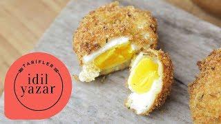 Kızarmış Poşe Yumurta Tarifi - İdil Tatari - Yemek Tarifleri - Crispy Poached Eggs