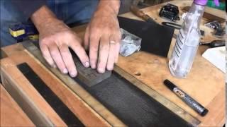 How to flatten water stones.
