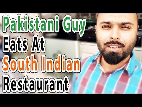 Pakistani Guy At Kerala (South Indian) Restaurant, See Reaction - Vlog 5 || NabeelOye ||