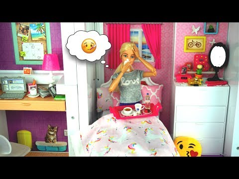 Xxx Mp4 Barbie Sick Day Morning Routine In Dream House Fun Toys For Kids 3gp Sex