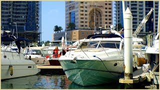 DUBAI - MARINA, Bootsfahrt im