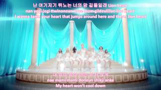Lion Heart - Girls' Generation SNSD (eng|rom|han lyrics)