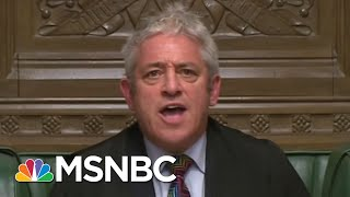 Why Political Chaos In America & Great Britain Is Good For Vladimir Putin | The 11th Hour | MSNBC