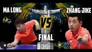 Ma Long vs Zhang Jike Final Olympics Rio de Janeiro Table Tennis 2016