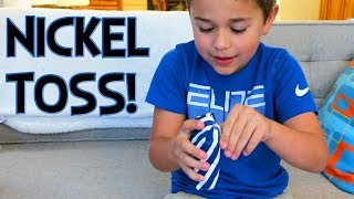 AUTO'S 9 YEAR OLD BIRTHDAY NICKEL TOSS CHALLENGE!