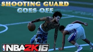 SHOOTING GUARD THE GO TO POSITION NOW?? | DROPPING PEOPLE OFF | PATCH 6 | NBA 2K16 MY PARK