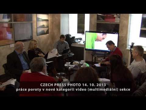 Porota video multimediální sekce Czech Press Photo 2013