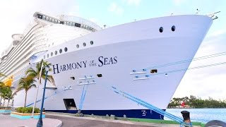 New! Harmony of the Seas 2016 HD Video and Sound - See it up close!