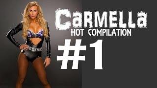 WWE NXT Diva Carmella Hot Compilation -1