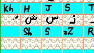 Arabic Alphabets for kids Tajweed Lesson techniques - By Najma Fazal - www.quranforkids.net.wmv