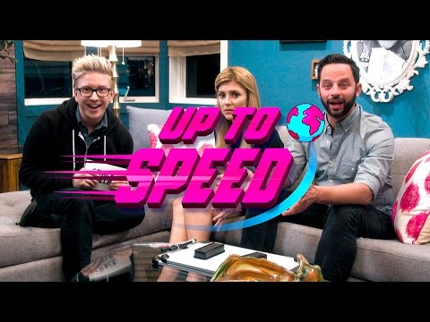 UP TO SPEED with NICK KROLL and TYLER OAKLEY // Grace Helbig