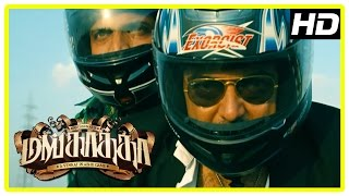 Mankatha Tamil Movie | Ajith's new plan to flick the money | Ajith steals the money | Bike Scene