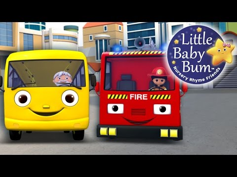 Wheels On The Bus | Part 11 | Nursery Rhymes | By LittleBabyBum!!