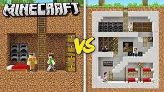 THE PALS NOOBS vs. PRO - SECRET HOUSE! (Minecraft Noob vs. Pro Battle)