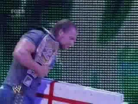 Triple H interrupts the wedding 7-18-08