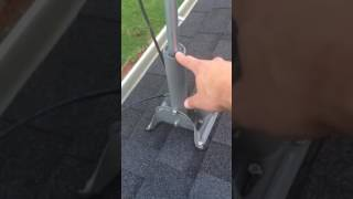 How to use old satellite dish coax cable with OTA HDTV antenna.
