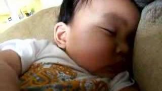 20070407-Nathan snoring
