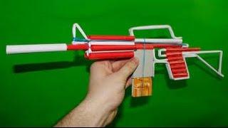 كيف تصنع بندقية m4 من الورق تطلق النار #2