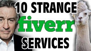 10 Strangest Fiverr Services - GFM